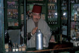 Nefta, worker in perfume shop