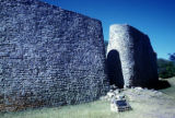 Zimbabwe, entrance to Great Zimbabwe monument