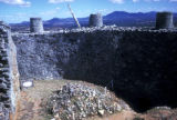 Zimbabwe, barricades above Acropolis of Great Zimbabwe