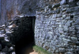Great Zimbabwe, narrow passageway on Acropolis