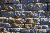 Zimbabwe, detailed view of stone wall at Great Zimbabwe