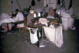 Harare, workers in textile plant