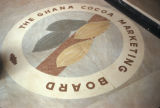 Accra, emblem of national cocoa board