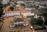 Accra, aerial view of police compound