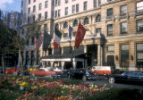 New York, Manhattan, Plaza Hotel entrance