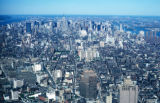 New York, Manhattan, overview of city and Manhattan Island