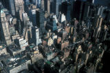 New York, Manhattan, mid-Manhattan rooftops