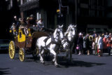 New York, Manhattan, horse-drawn carriage