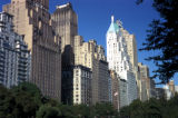 New York, Manhattan, high-rise apartment buildings facing Central Park