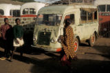 Accra, mammy wagons, buses used for rural transport