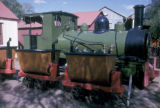 Kimberley, historic diamond mine locomotive