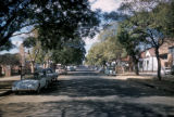 Pretoria, tree-lined residential street