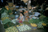 Bangkok, vegetable market