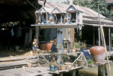 Bangkok, spirit houses built to appease ghosts of previous residents
