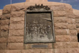 Pretoria, Church Square, plaque on Paul Kruger Monument