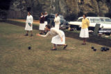 Port Elizabeth, women playing boccie