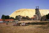 Johannesburg, gold mine and mine dump