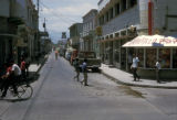Santa Marta, view of commercial street
