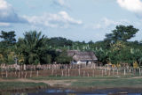 Santa Marta, farmstead on Magdalena River