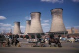 Johannesburg, power station cooling towers