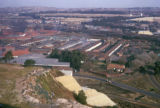 Johannesburg, view of industrial area