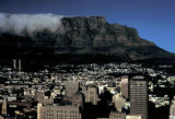 Cape Town, Table Mountain and view of city