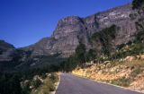 Cape Town, road to the top of Table Mountain