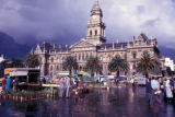 Cape Town, City Hall and outdoor market on Grand Parade