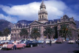 Cape Town, City Hall and Grand Parade parking lot