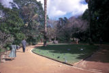 Cape Town, pathways in park