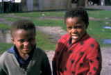 Cape Town, children posing
