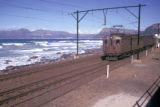 Cape Town, electric railroad along coast