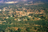 Durban, aerial view of undeveloped land