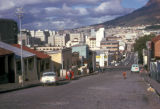 Cape Town, street scene in Malay Quarter (Bo-Kaap)