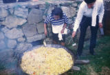 Bogota, outdoor cooking