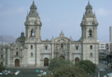 Lima, Lima Cathedral in Plaza Mayor, or Plaza de Armas