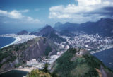 Rio de Janeiro, view of city from Sugar Loaf Mountain