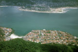 Rio de Janeiro, view of original settlement from Sugar Loaf Mountain