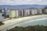 Santos, apartment buildings along beach