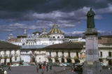 Quito, view of plaza