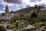 La Paz, view of plaza