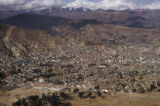 La Paz, aerial view of city