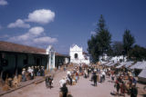 Chichicastenango, Santo Tomas church and outdoor market