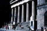 New York, Manhattan, Federal Hall National Memorial on Wall Street