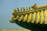 Beijing, Forbidden City palace architectural detail