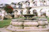 Antigua, Santa Clara convent courtyard and fountain