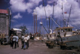 Bridgetown, harbor scene
