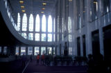 New York, Manhattan, interior mezzanines and lobby of World Trade Center