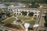 Antigua, view of Santa Clara convent courtyard and fountain