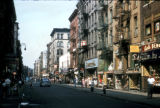 New York, Manhattan, Lower East Side street scene
